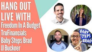Gel Takıl TruFinancials, Bebek Adımları Brad & JJ Buckner ile CANLI!