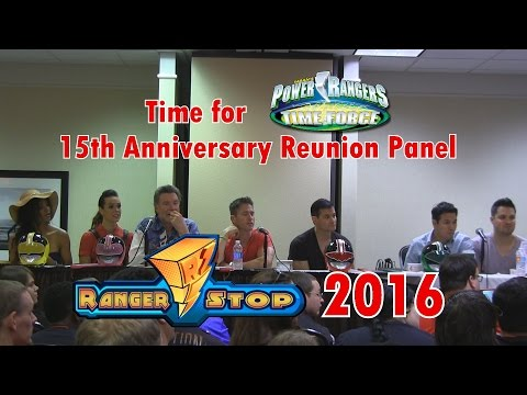 Power Rangers: Time For Time Force 15th Anniversary Reunion Panel  RangerStop 2016