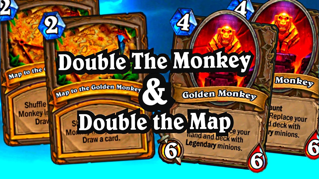 double the golden monkey double the map hearthstone the league rh youtube com map to the golden monkey hs map to the golden monkey hearthstone card