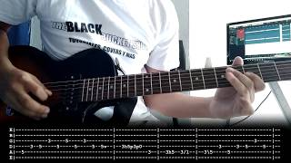 When The Curtain Falls - Greta Van Fleet | Cover | Tutorial w/Guitar Solo | Chords | Tab