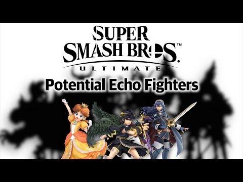 Super Smash Bros. Ultimate - Potential Echo Fighters