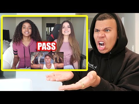 REACTING TO PEOPLE WHO SMASH OR PASSED ME!! (OMG)