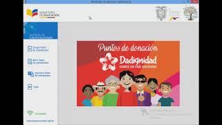 Nueva plataforma para el control de notas CARMENTA educarecuador 2018