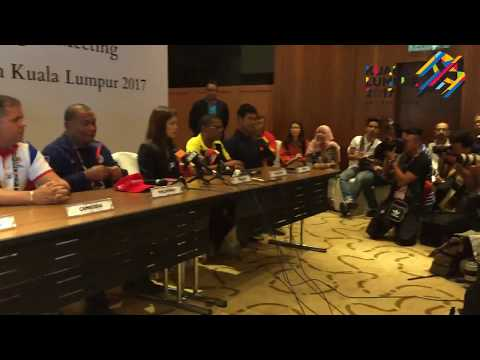 SEA Games KL2017: Group B Men's Football - Team Managers Meeting