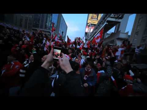 Compilation Of Canada's Reactions To Men's Hockey Gold Part 2 Of 2 (Vancouver 2010)