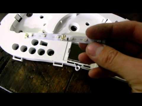 Тюнинг щитка приборов - 4 часть (Подсветка шкал,удаление светофильра)