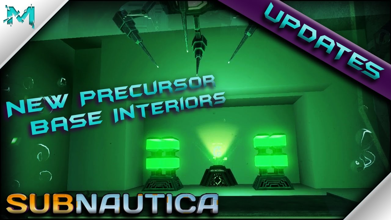 Subnautica UPDATES! Disease Research Facility and Thermal Plant Interiors!