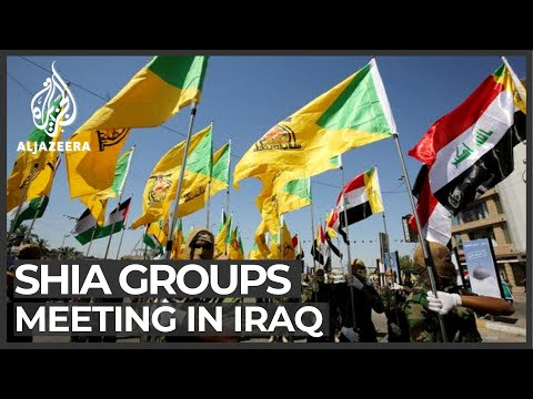 Iraq Shia armed groups meeting over 'US aggression'