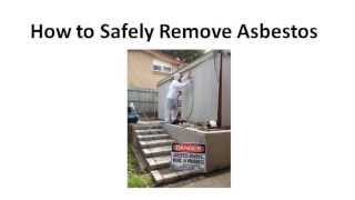 Asbestos Removal & Disposal Brisbane -07 3911 1213- Queensland Australia