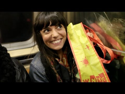 New York Public Radio Tote Bags Around Town