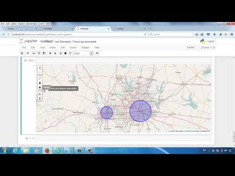 Geographical Data Visualization in Jupyter Notebook (ipyleaflet Tutorial  Starts from 11'45