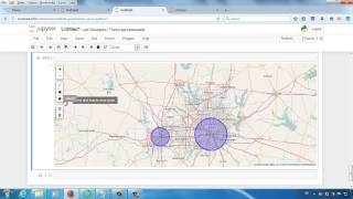 geographical data visualization in jupyter notebook