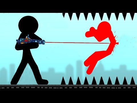 STICKMAN DESTRUCTION - Walkthrough Gameplay Part 1 - INTRO (Stickman Destruction Warrior Games)