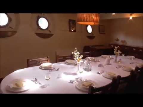 HMS Caroline Captain & Officer's quarters Tom's Tour Part 4