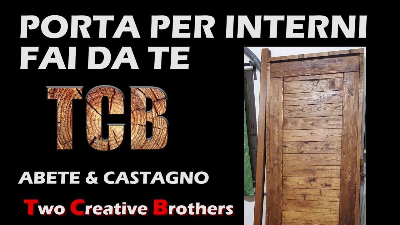 Porta In Legno Massello Stile Rustico Per Interni Fai Da Te