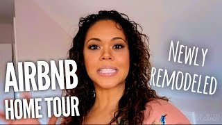 Newly Remodeled Airbnb House Tour  With Before Pics - Shannamariebvlogs