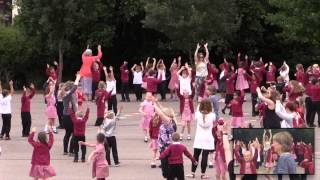 St Julian's School flashmob