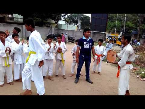 Master Azim kazi 0959535471 karate home tuition hyderabad