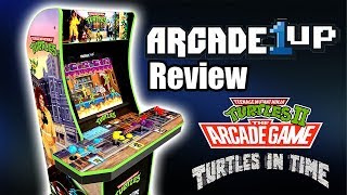 Arcade1UP Teenage Mutant Ninja Turtles Arcade Machine Review - Is it Worth Buying?
