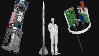 Lumineer Design - 10km/Mach 1.7 L3 Rocket