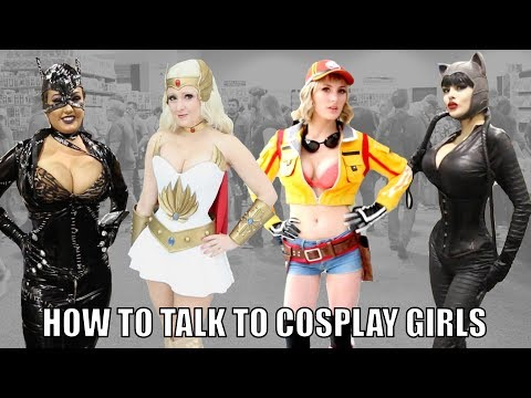 How to Talk to Cosplay Girls at WonderCon 2018