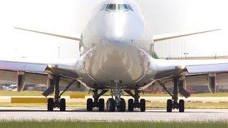 Heathrow airport airplane spotting London England 2014