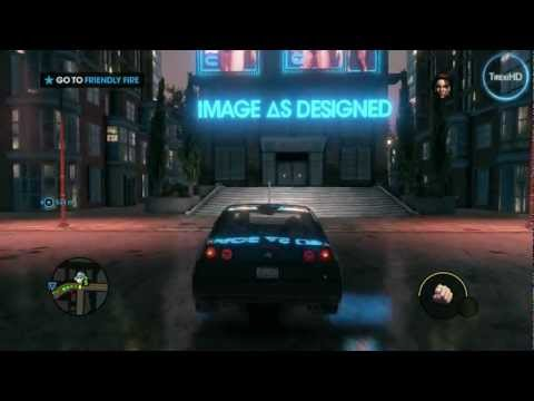 Saints Row: The Third HD gameplay
