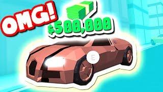 COMPRANDO o novo $500000 BUGATTI (Roblox jailbreak)