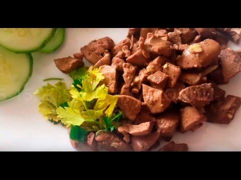 Печень куриная, рецепты с фото на : 328