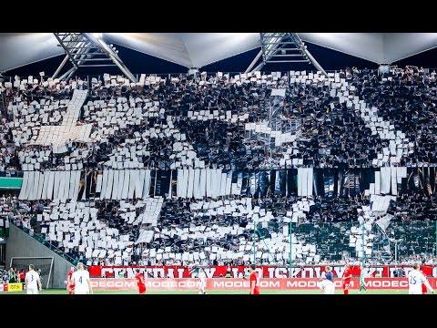 """""""Stepan Bandera to kawał k#&@^ frajera"""" - doping na Legia Warszawa 3-2 Zoria Ługańsk"""