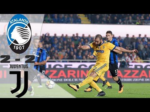 Atalanta 2 2 Juventus  ¦ Ronaldo Scores  Man Juve