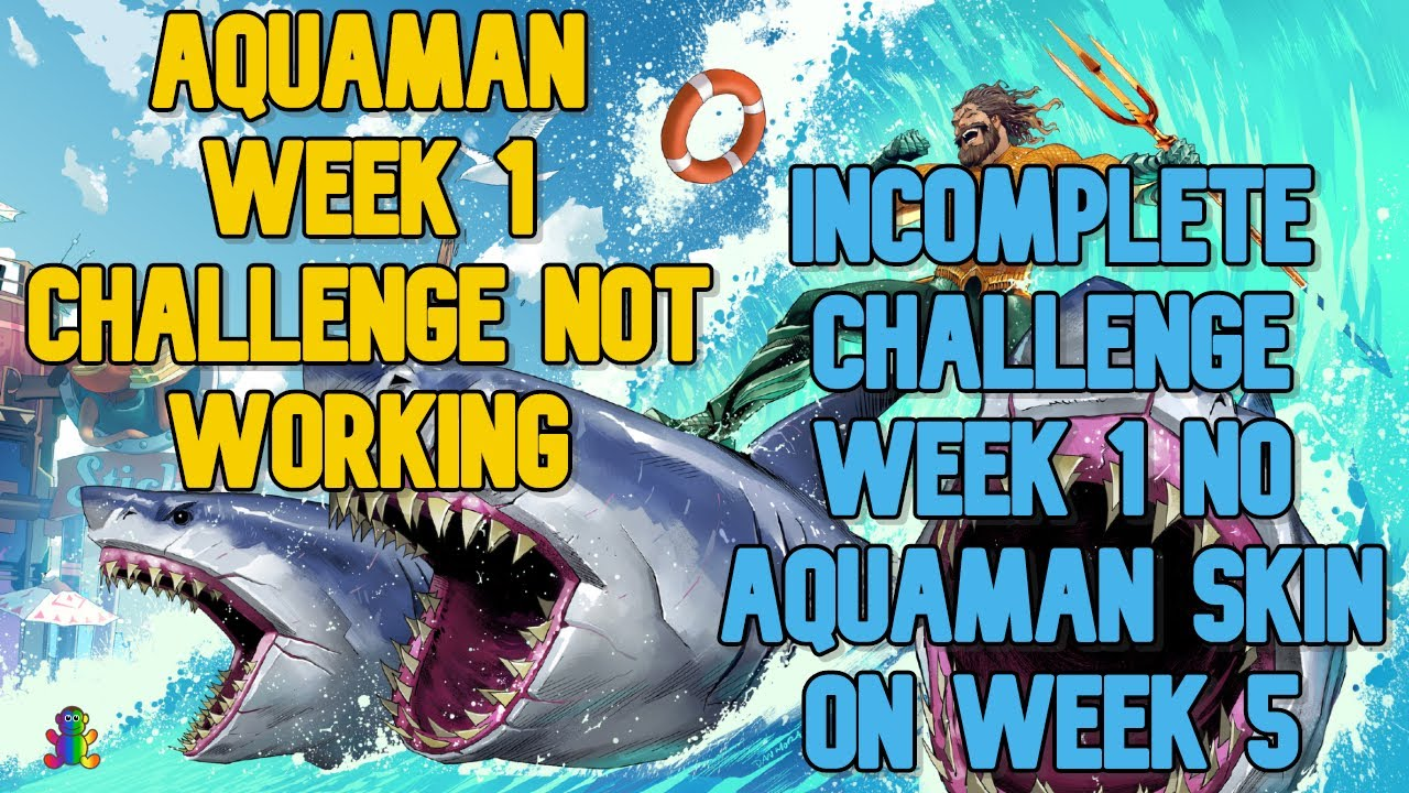 USE A WHIRLPOOL AT THE FORTILLA NOT WORKING - FORTNITE AQUAMAN WEEK 1