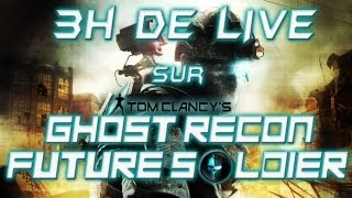 LIVE sur Ghost Recon Future Soldier (Beta) [Rediffusion]