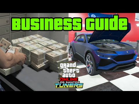 GTA 5 - Tuners DLC - AUTO SHOP Business Guide & Contract Missions