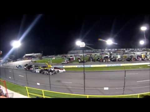 Carteret County Speedway Nascar Late Model A-Feature - Swansboro, NC -  July 5, 2017