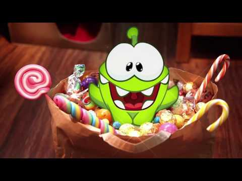 Om Nom Stories|Cut The Rope Funny Cartoons For Kids| Ice Jelly Candy Halloween Surprise |Chotoonz TV