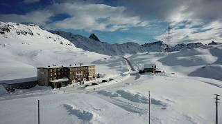 Ho trovato un posto FANTASTICO!!! - Passo del Bernina -  Gennaio 2018 - DRONE!