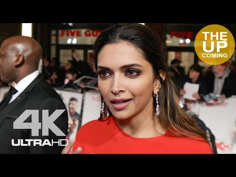 Deepika Padukone interview on Bollywood, Hollywood & female empowerment at XXX premiere in London