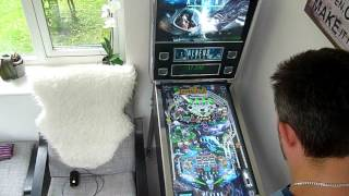 Future Pinball Cabinet 3 Monitor Game Play
