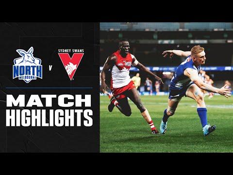 Sydney v North Melbourne Highlights   Round 3 2020   AFL – AFL