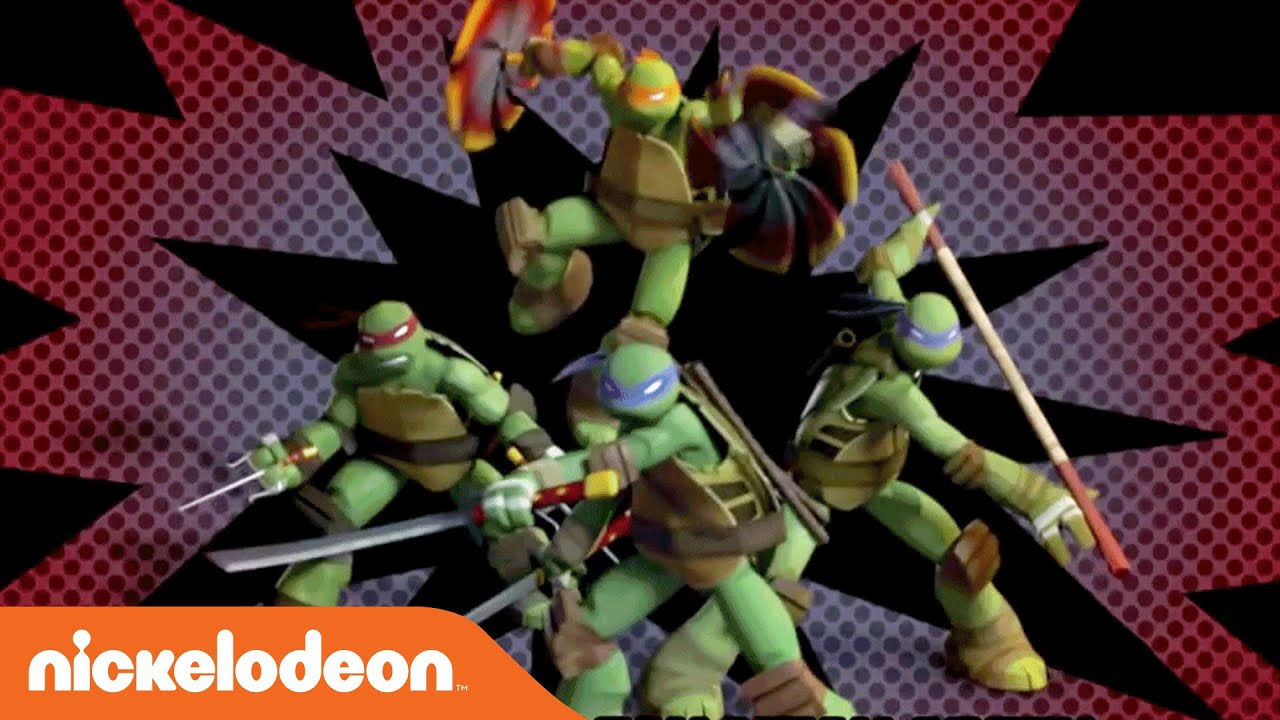 Teenage Mutant Ninja Turtles Theme Song Karaoke Version Nick Youtube