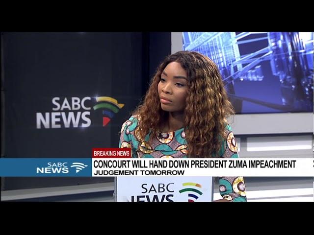 ConCourt to hand down judgement on Pres Zuma impeachment