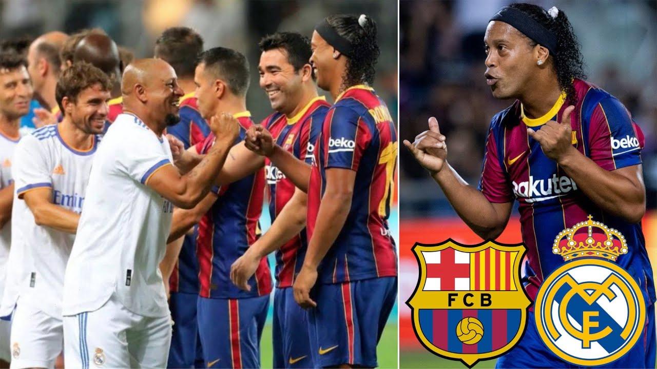 Ronaldinho SHINES in Legends El Clasico Match, Barcelona vs Real Madrid, July 2021 (Review)