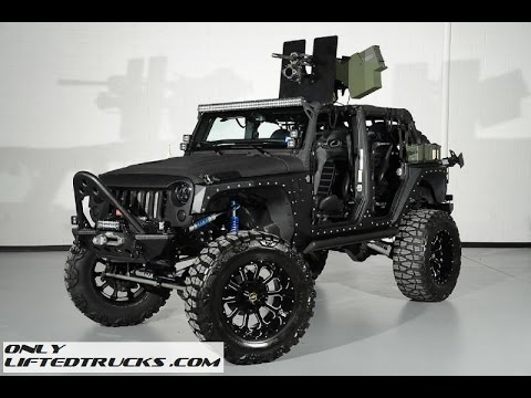 2014 Jeep Wrangler Full Metal Jacket 50 Caliber Youtube