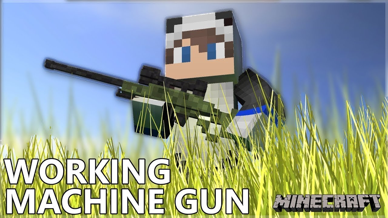 Flaming arrow machine gun! Minecraft tutorial (fast & easy.