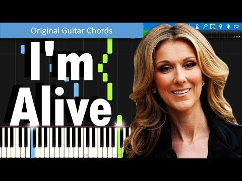 I Am Alive Celine Dion Guitar Chord