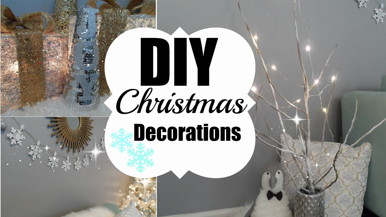 christmas diy youtube. Black Bedroom Furniture Sets. Home Design Ideas