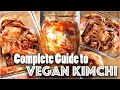 KIMCHI RECIPE (Vegan) - Easy Step-by-Step Guide