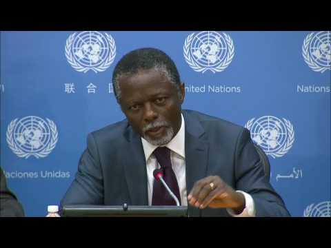 Parfait Onanga-Anyanga (MINUSCA) on the Central African Republic - Press Conference (13 June 2017)