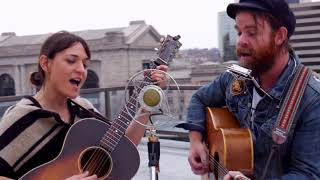Joe Purdy & Amber Rubarth - Storms Are On The Ocean (ETL Folk Alliance Session)